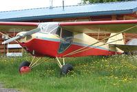 N36007 @ LHD - 1941 Taylorcraft BF12-65, c/n: 2972 at Lake Hood