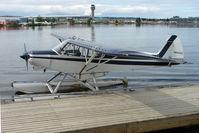 N4455Z @ LHD - 1965 Piper PA-18-150, c/n: 18-8334 on Lake Hood
