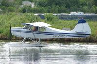 N1455H @ LHD - 1949 Aeronca 15AC, c/n: 15AC-525 on Lake Hood