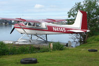N4145 @ LHD - Cessna 180A, c/n: 32840 at Lake Hood
