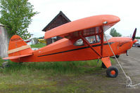 N2502A @ LHD - 1952 Piper PA-22-135, c/n: 22-815 at Lake Hood