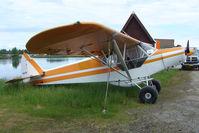 N2521S @ LHD - 1979 Piper PA-18-150, c/n: 18-7909152 at Lake Hood