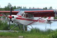 N44RT @ LHD - 1971 Piper PA-18-150, c/n: 18-8927 on Lake Hood