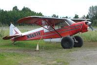 N9847P @ LHD - 1976 Piper PA-18-150, c/n: 18-7609037 at Lake Hood