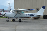 N757UV @ LHD - 1977 Cessna 152, c/n: 15280022 at Lake Hood
