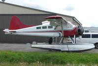 N152RF @ LHD - Tanada Lake's 1952 Dehavilland BEAVER DHC-2 MK.1, c/n: 498 at Lake Hood