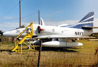 147834 @ PIE - A-4C Skyhawk displayed at the Florida Military Aviation Museum at Clearwater Airport in VA-153 colours as 148592 shot down over North Vietnam on October 20, 1966. - by Peter Nicholson