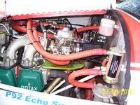 N553MA @ 2L0 - N553MA Engine - by Terry Harper