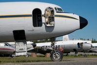N888DG @ PAFA - Everts Air Cargo DC6 - by Dietmar Schreiber - VAP