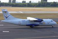 D-BCRN @ EDDL - InterSky, ATR 42-320, CN: 329 - by Air-Micha