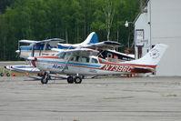 N7396C @ PATK - 1977 Cessna TU206G, c/n: U20603920 at Taleetna