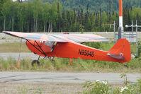 N95048 @ PATK - 1946 Taylorcraft BC12-D, c/n: 9448 at Talkeetna