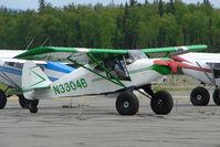 N3304B @ PATK - 1956 Piper PA-22, c/n: 22-2119 at Talkeetna - by Terry Fletcher