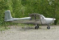 N817AK @ PATK - 1958 Cessna 175, c/n: 55101 at Talkeetna