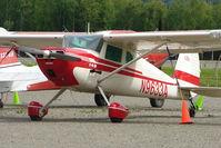 N9633A @ PATK - 1949 Cessna 140A, c/n: 15354 at Talkeetna