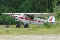 N4121Z - 1964 Piper PA-18, c/n: 18-8165 at the old gravel strip in the centre of Talkeetna town