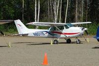 N80115 @ PAUO - 1975 Cessna 172M, c/n: 17266379 at Willow AK