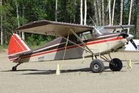 N1748P @ PAUO - 1954 Piper PA-22-150, c/n: 22-2539 at Willow AK