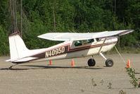 N4095D @ PAUO - 1957 Cessna 182A, c/n: 34795 at Willow AK