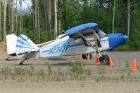 N2747P @ PAUO - 1955 Piper PA-22, c/n: 22-3054 at Willow AK