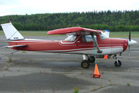N6740G @ PASX - 1970 Cessna 150L, c/n: 15072240 at Soldotna