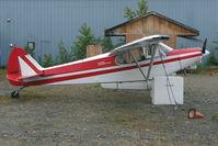 N4482E @ PASX - 1981 Piper PA-18-150, c/n: 18-8109025 at Soldotna