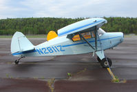 N2811Z @ PASX - 1959 Piper PA-22-150, c/n: 22-6804 at Soldotna