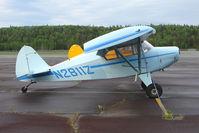 N2811Z @ PASX - 1959 Piper PA-22-150, c/n: 22-6804 at Soldotna