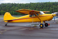 N8352A @ PASX - 1952 Cessna 170B, c/n: 25204 at Soldotna
