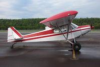 N1754A @ PASX - Piper PA-18A, c/n: 18-1319 at Soldotna
