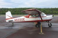 N5550E @ PASX - 1958 Cessna 150, c/n: 17050 at Soldotna