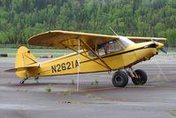 N2621A @ PASX - 1952 Piper PA-18 105, c/n: 18-2168 at Soldotna