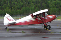 N3661P @ PASX - 1955 Piper PA-22-150, c/n: 22-3412 at Soldotna
