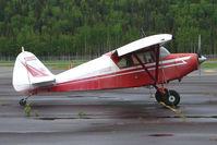 N3661P @ PASX - 1955 Piper PA-22-150, c/n: 22-3412 at Soldotna