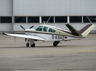 D-EGHZ @ LFBO - Parked at the General Aviation area... - by Shunn311