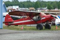 N8566C @ LHD - 1958 Piper PA-18A 150, c/n: 18-6398 at Lake Hood