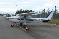 N66635 @ LHD - 1974 Cessna 150M, c/n: 15076170 at Lake Hood