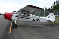 N80CA @ LHD - 1952 Cessna 170B, c/n: 20301 at Lake Hood