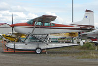 N2868K @ LHD - 1979 Cessna 180K, c/n: 18053105 at Lake Hood