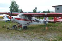 N4257Z @ LHD - 1967 Piper PA-18-150, c/n: 18-8497 at Lake Hood