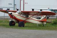 N1474C @ LHD - 1953 Piper PA-18A, c/n: 18-2678 at Lake Hood
