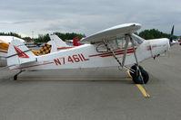 N7461L @ LHD - 1975 Piper PA-18-150, c/n: 18-7509053 at Lake Hood