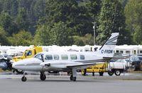 C-FRDN @ CYCD - Piper PA-31-350 - by Mark Pasqualino