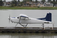 C-GJXQ @ CYVR - Cessna 180J - by Mark Pasqualino