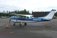 N9675X @ PASX - 1962 Cessna 210B, c/n: 21057975 at Soldotna