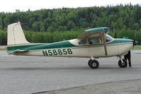 N5885B @ PASX - 1956 Cessna 182A, c/n: 33885 at Soldotna