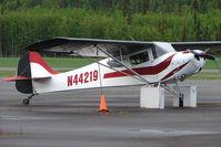N44219 @ PASX - 1946 Taylorcraft BC12-D1, c/n: 10019 at Soldotna