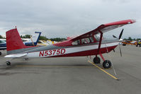 N5375D @ LHD - 1958 Cessna 180A, c/n: 50273 at Lake Hood