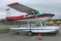 N9001M @ LHD - 1969 Cessna 180H, c/n: 18052101 at Lake Hood