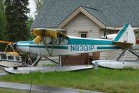 N8301P @ L85 - 1963 Piper PA-18-150, c/n: 18-8040 on the shore of Mackey Lake Soldotna